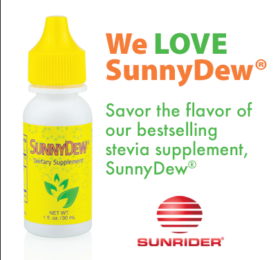 We Love SunnyDew!! Savor the flavor of our bestselling Stevia Supplement,