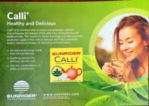 sunrider calli tea - sunhealth az