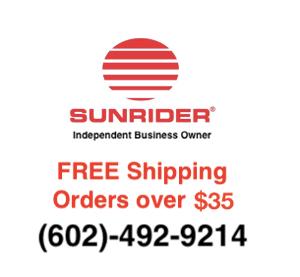 Sunrider FREE Shipping www.SunHealthAz.com 602-492-9214 SunHealthAz@gmail.com