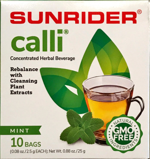 Sunrider Calli Herbal Beverage www.SunHealthAz.com
