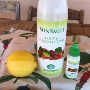 Sunrider Fruit & Vegetable Rinse www.SunHealthAz.com 602-492-9214 SunHealthAz@gmail.com