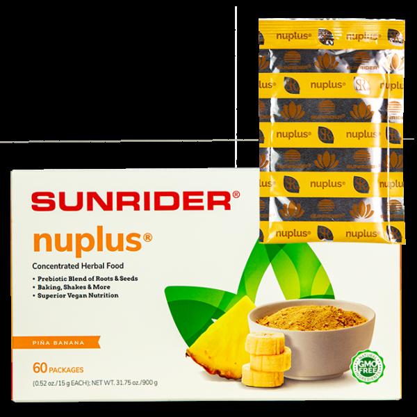 Nuplus 10 Pack Pina Banana www.SunHealthAz.com SunHealthAz@gmail.com
