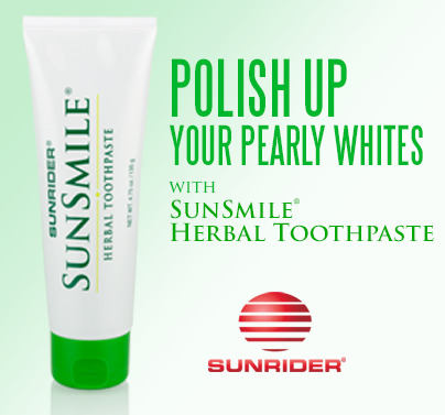 Polish Up Your Pearly Whites with Sunrdier SunSmile Herbal Toothpaste
