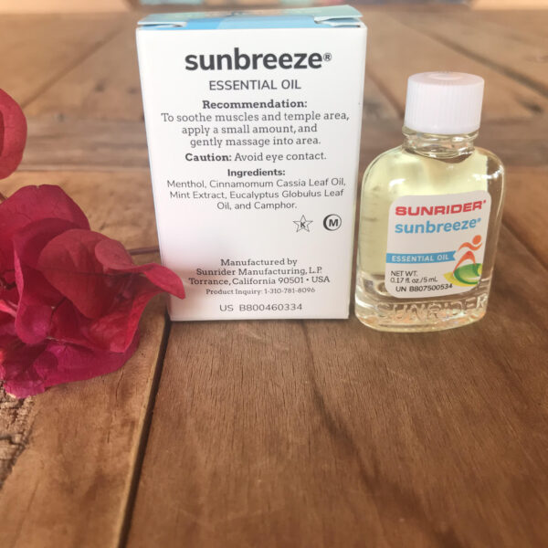 Sunrider SunBreeze Oil, www.SunHealthAz.com 602-492-9214 Sunhealthaz@gmail.com