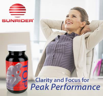 Sunrider International - Top: for Clarity and Focus for Peak Performance!