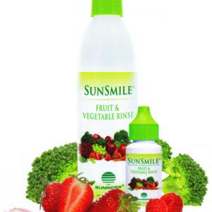 sunrider sunsmile fruit and vegetable rinse