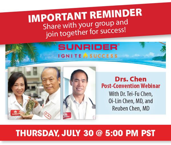 Drs Chen Post Convention Webinar Sunhealth Az