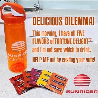 Sunrider Fortune Delight Drinks - www.sunhealthaz.com 602-492-9214 sunhealthaz@gmail.com